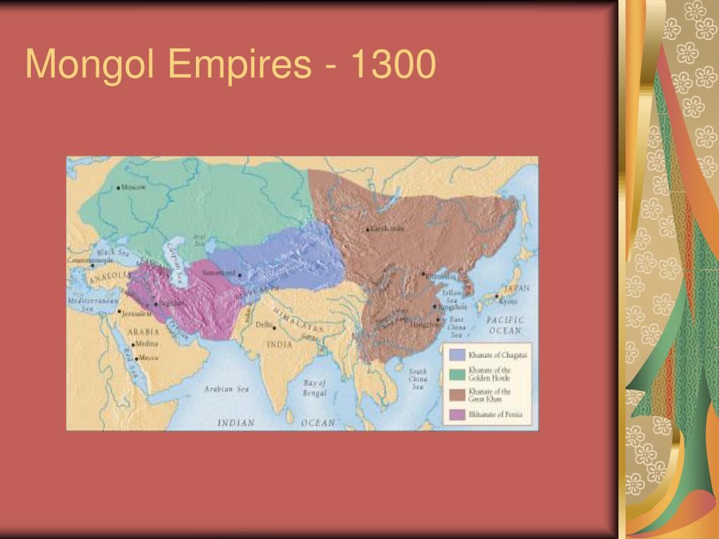 Mongol Empires - 1300