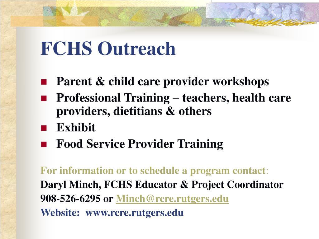 FCHS Outreach