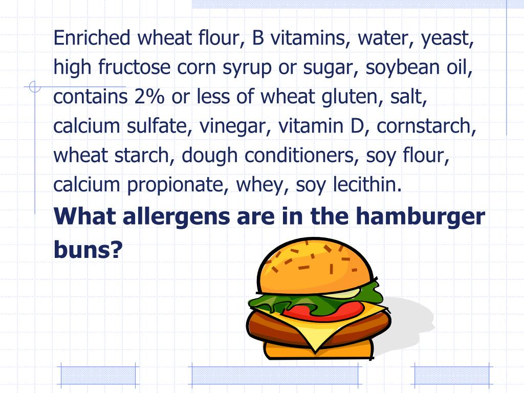 Enriched wheat flour, B vitamins, water, yeast,