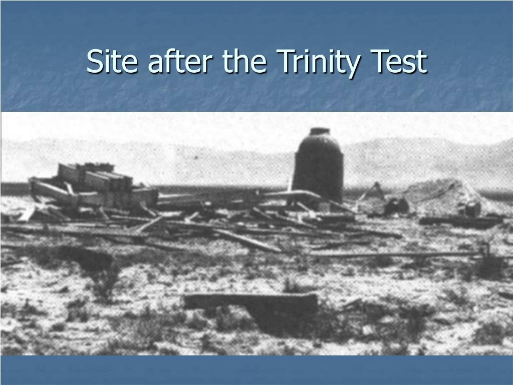 Site after the Trinity Test