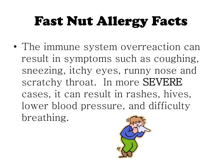 Fast nut allergy facts