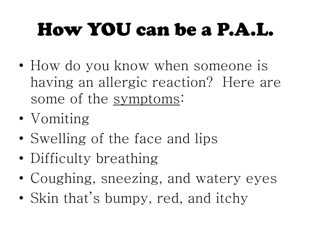 How YOU can be a P.A.L.