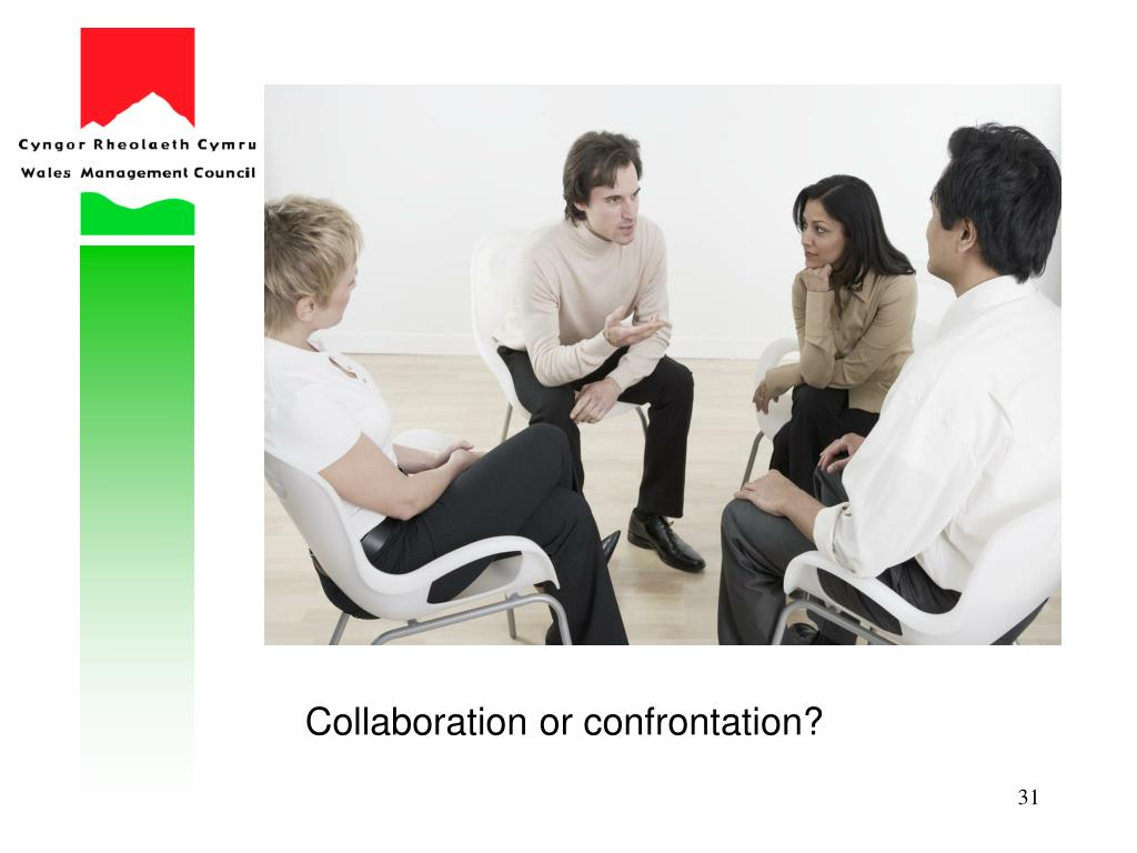 Collaboration or confrontation?