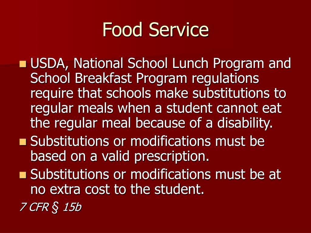 Food Service