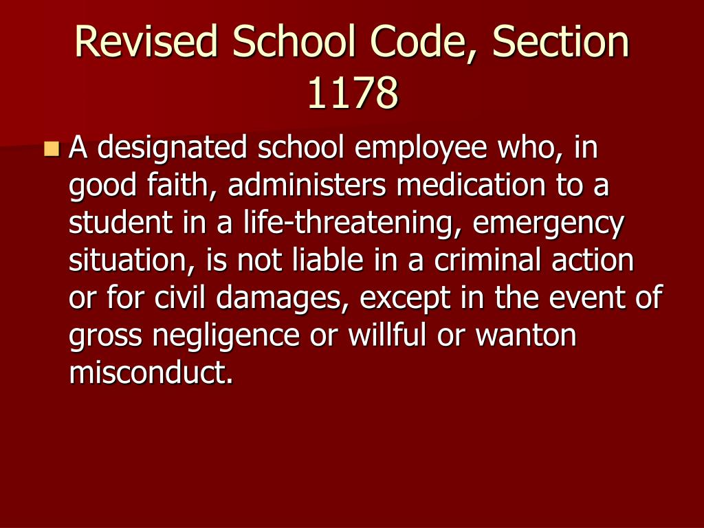 Revised School Code, Section 1178