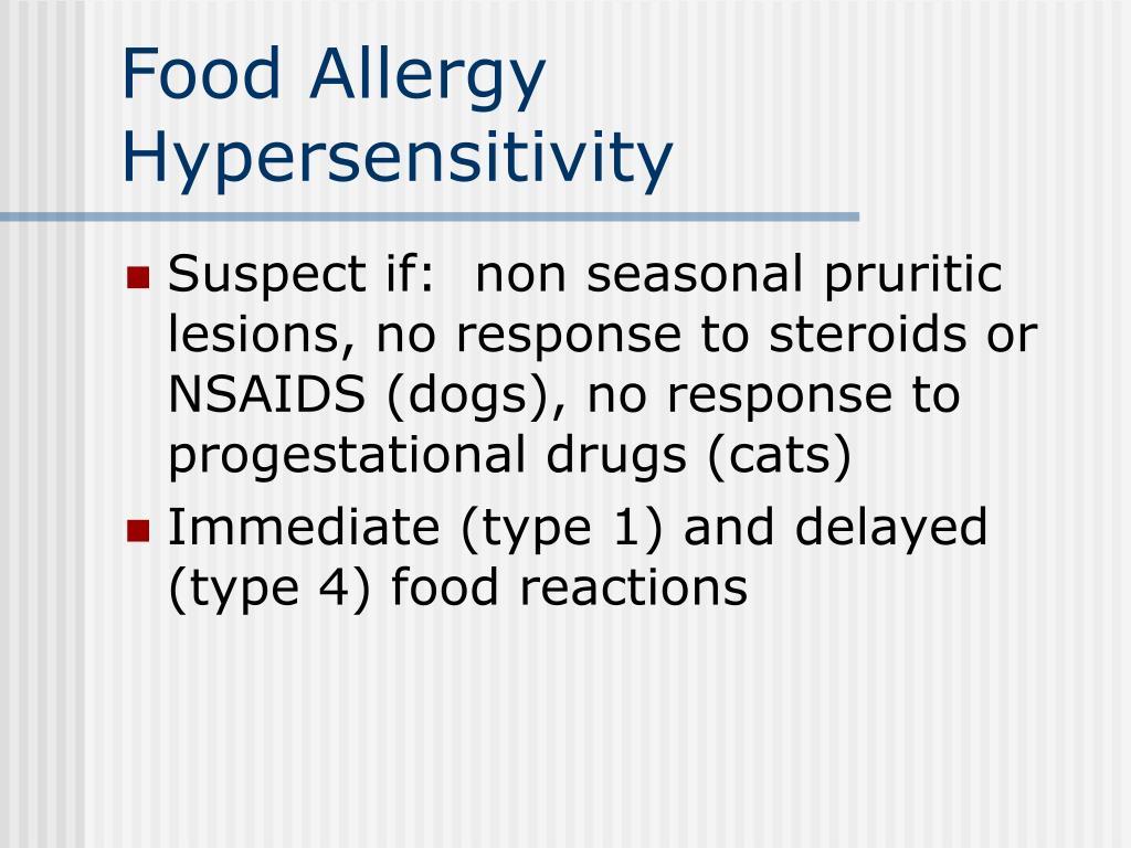 Food Allergy Hypersensitivity