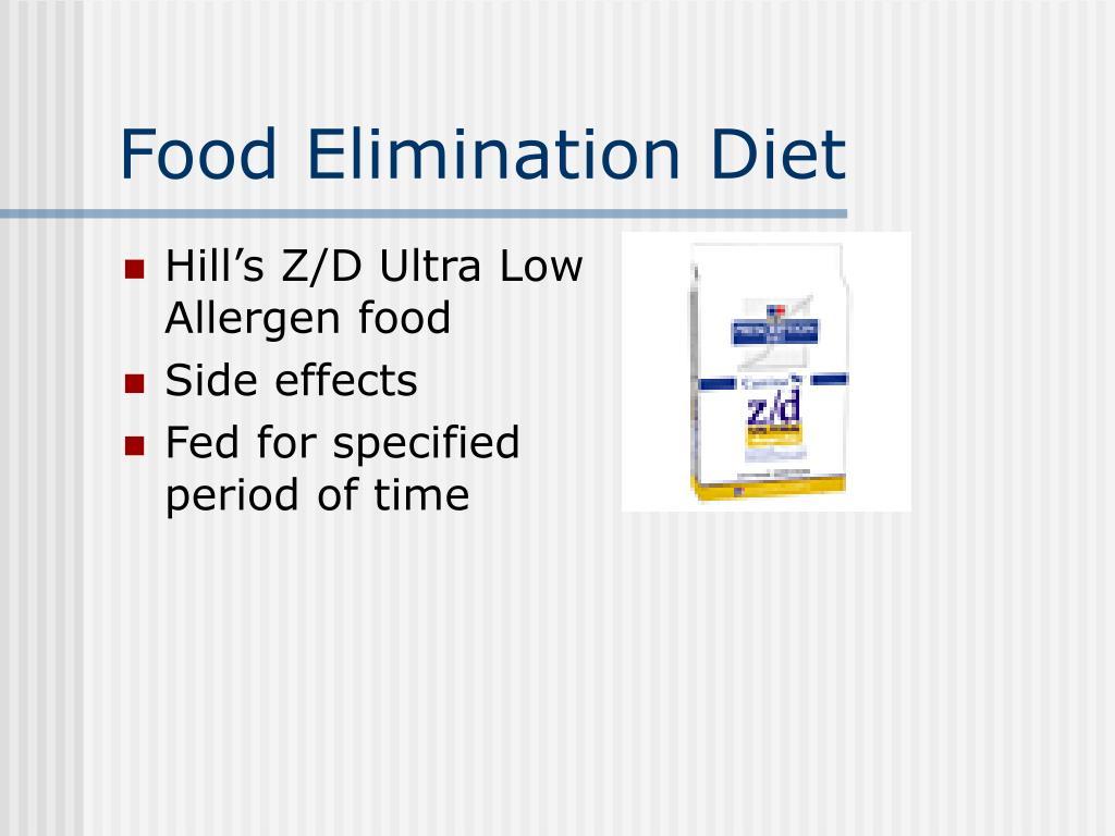 Food Elimination Diet