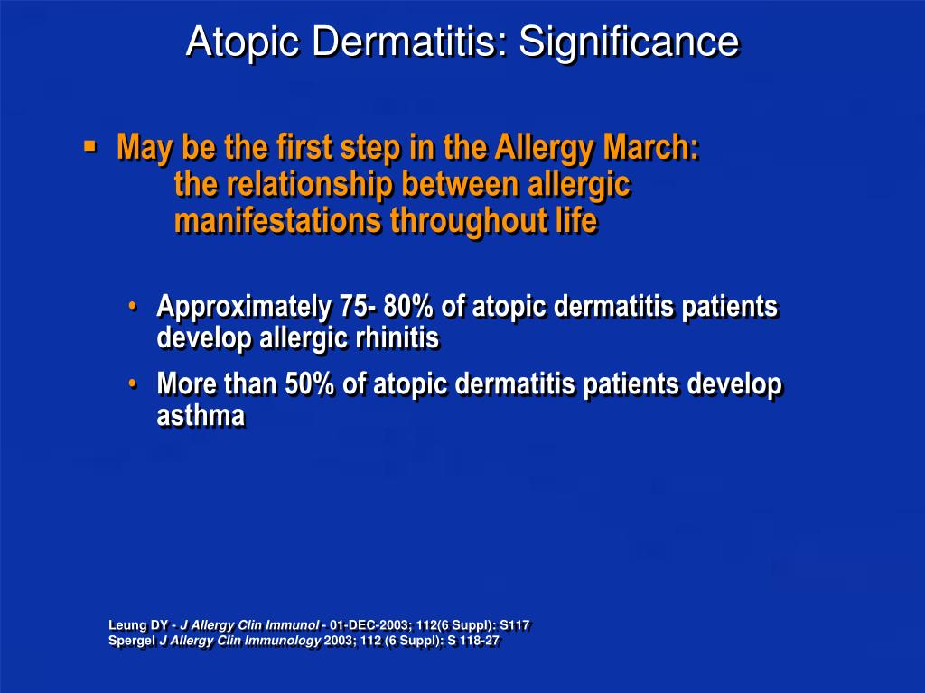 Atopic Dermatitis: Significance