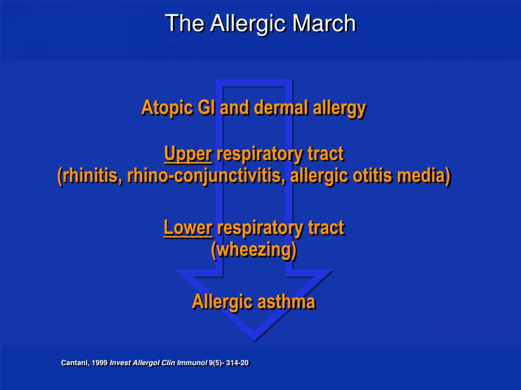 The Allergic March