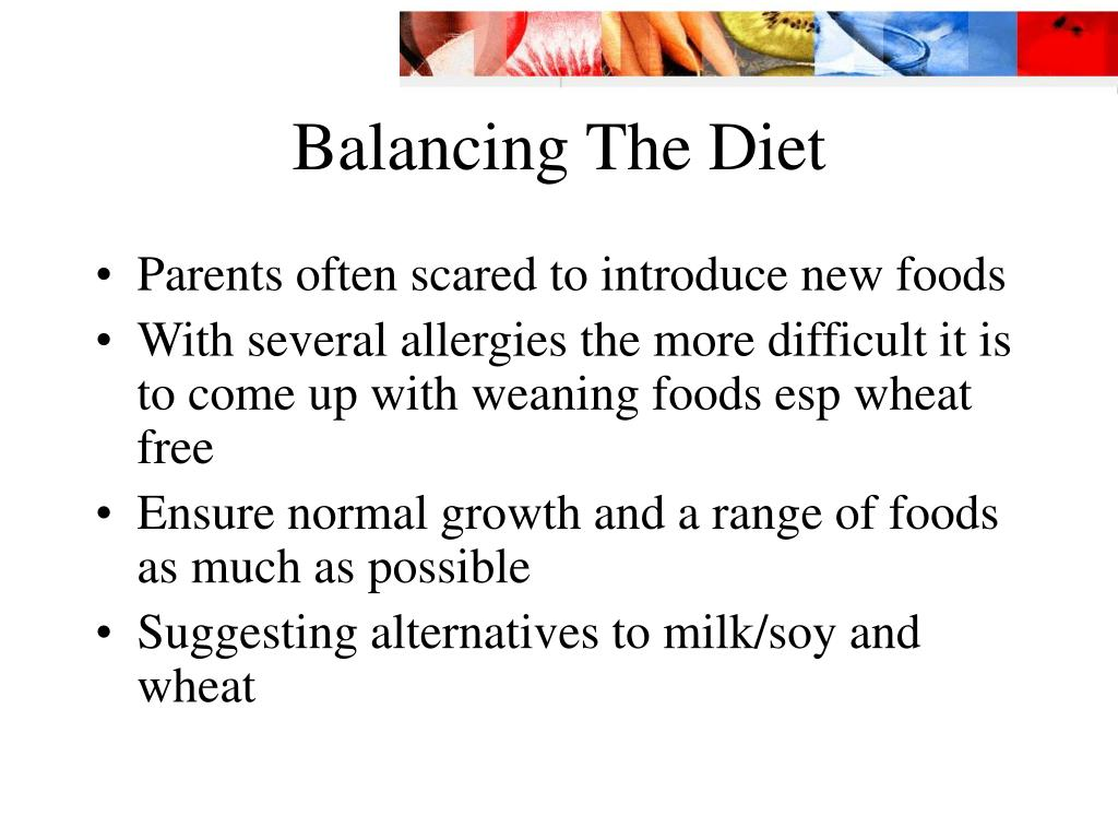 Balancing The Diet