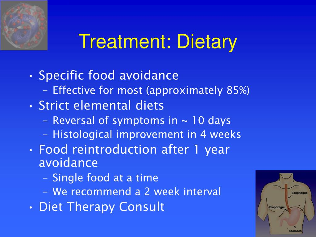 Treatment: Dietary