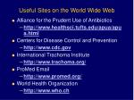 useful sites on the world wide web