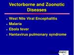 vectorborne and zoonotic diseases23