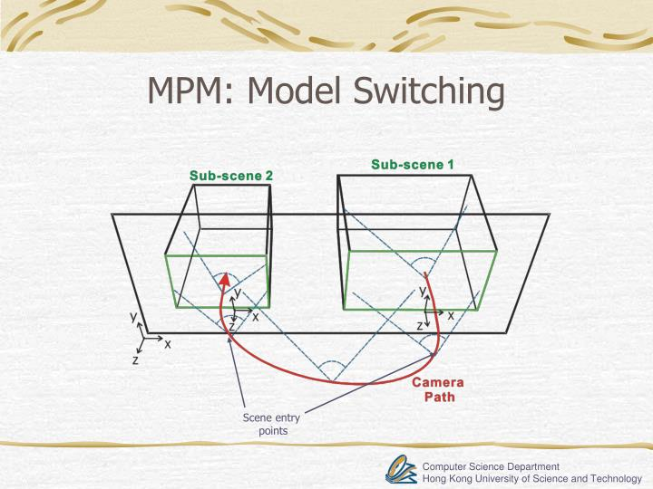 MPM: Model Switching