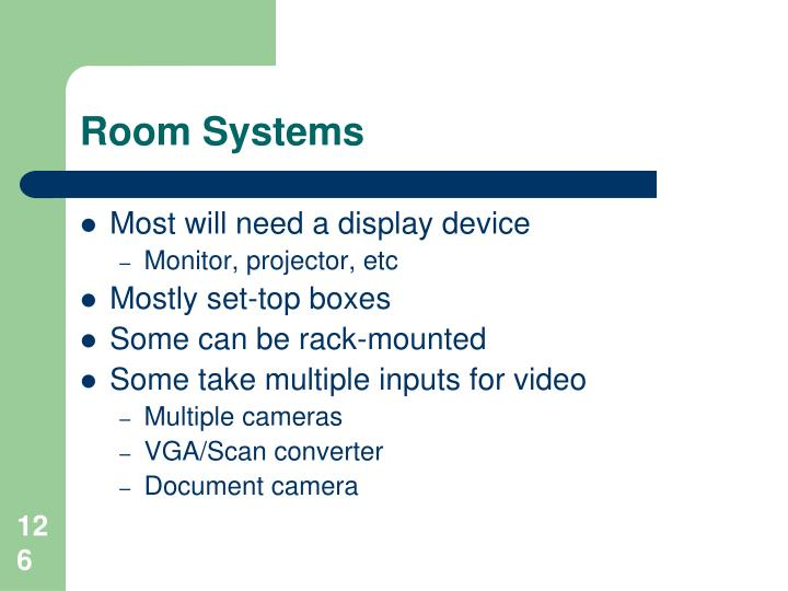 Room Systems