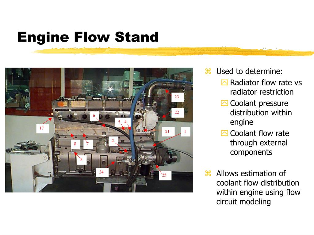 Engine Flow Stand