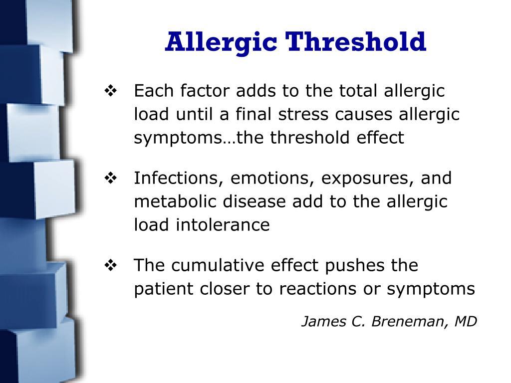 Allergic Threshold