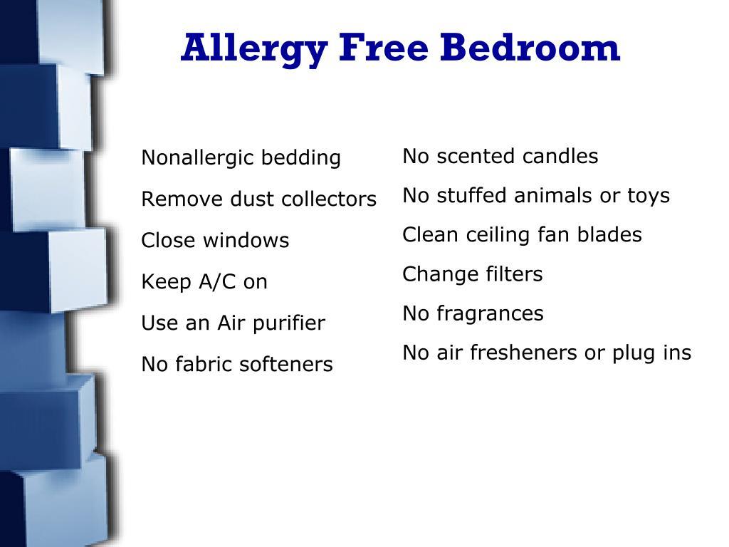 Nonallergic bedding