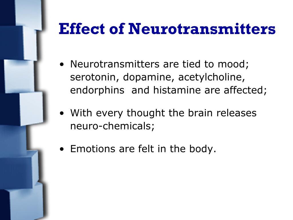 Effect of Neurotransmitters