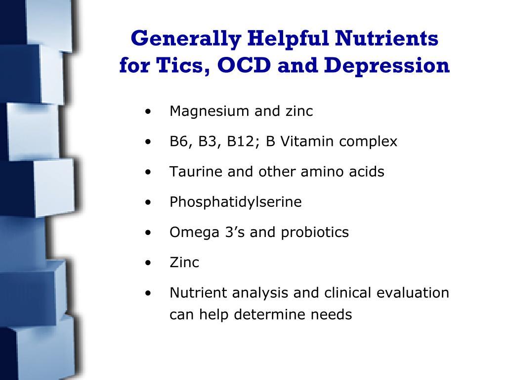Generally Helpful Nutrients