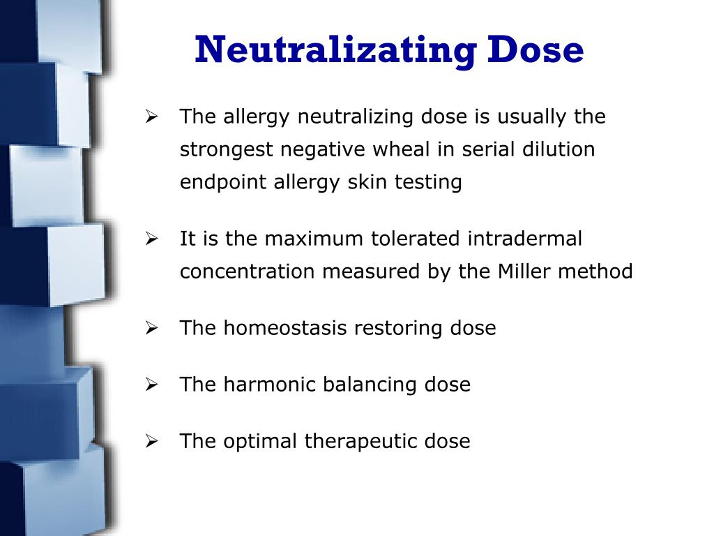 Neutralizating Dose