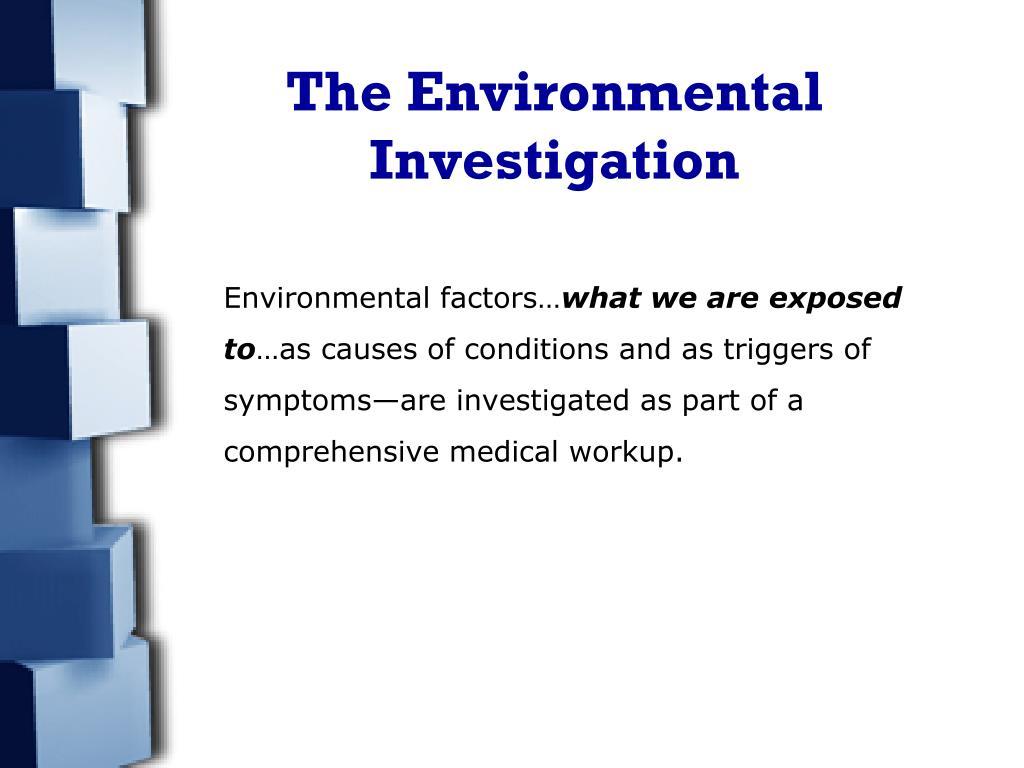 The Environmental