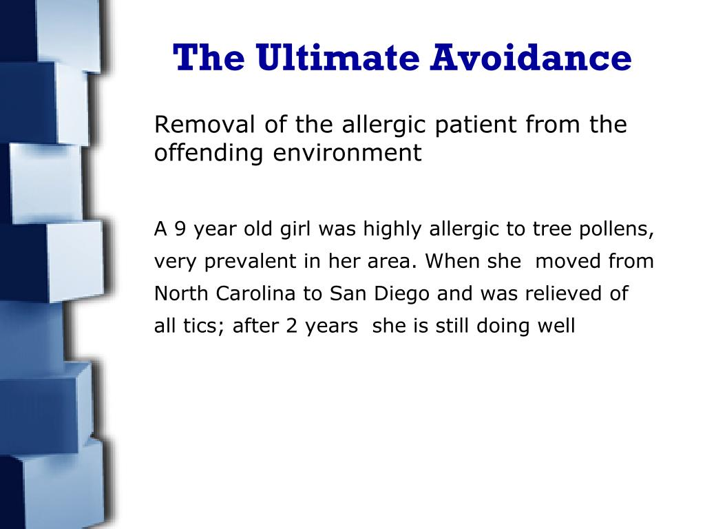 The Ultimate Avoidance