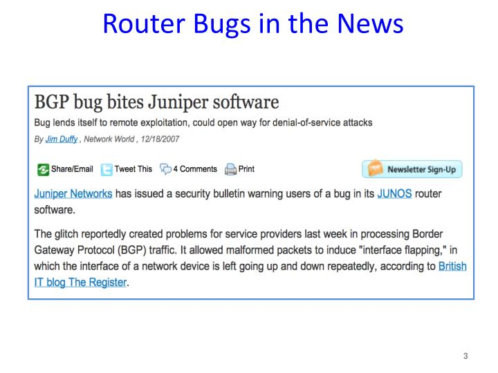 Router bugs in the news3