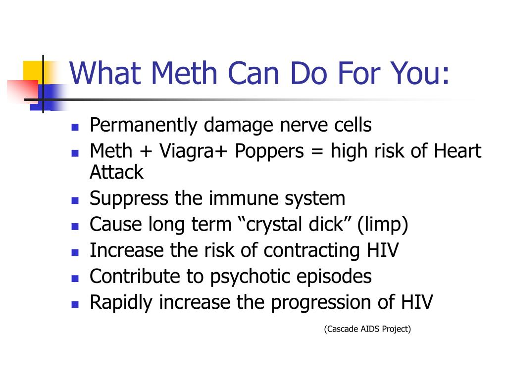 What Meth Can Do For You:
