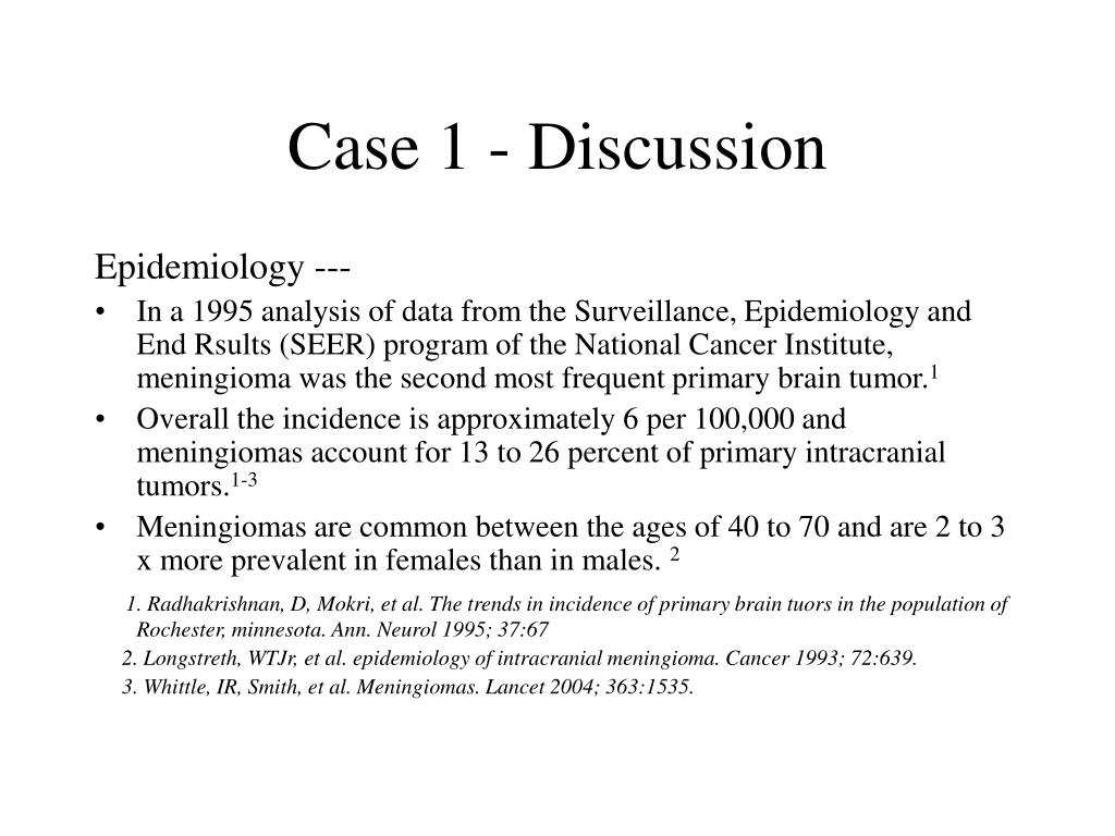 Case 1 - Discussion