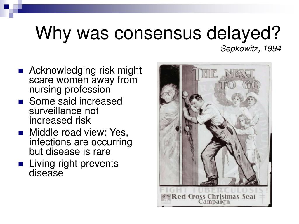 Why was consensus delayed?