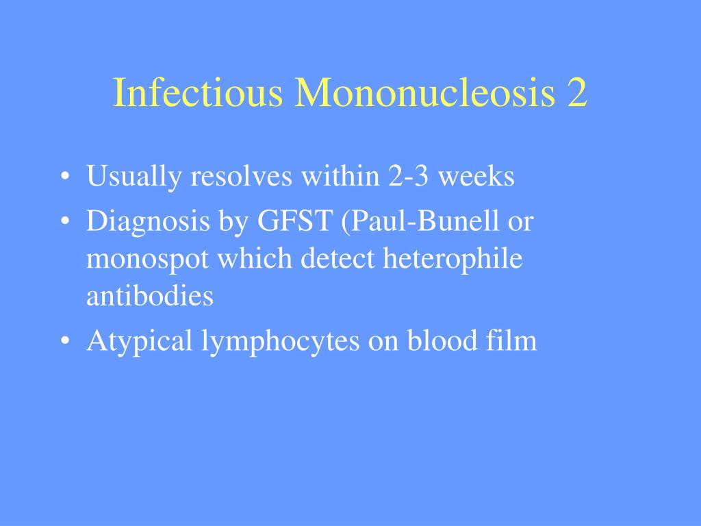 Infectious Mononucleosis 2