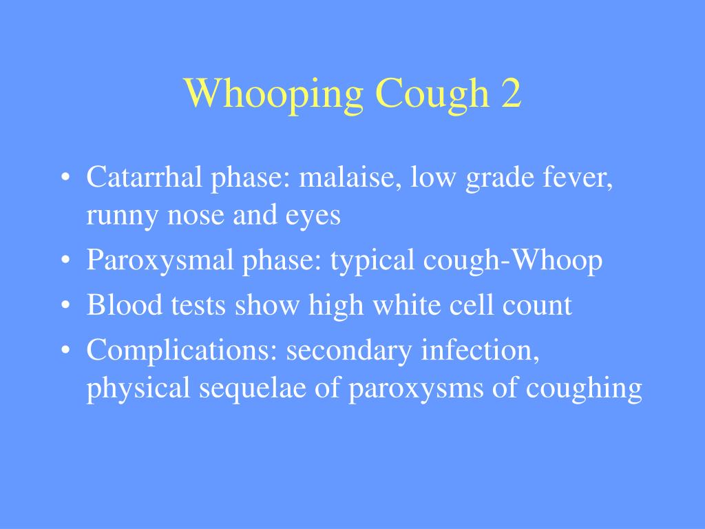 Whooping Cough 2