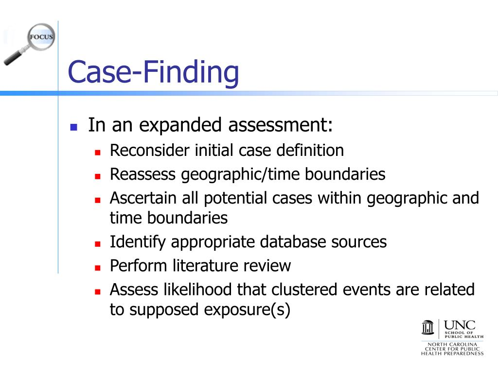 Case-Finding