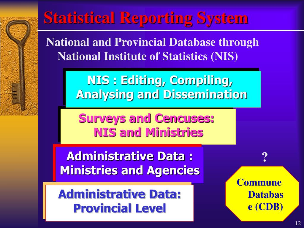 Statistical Reporting System