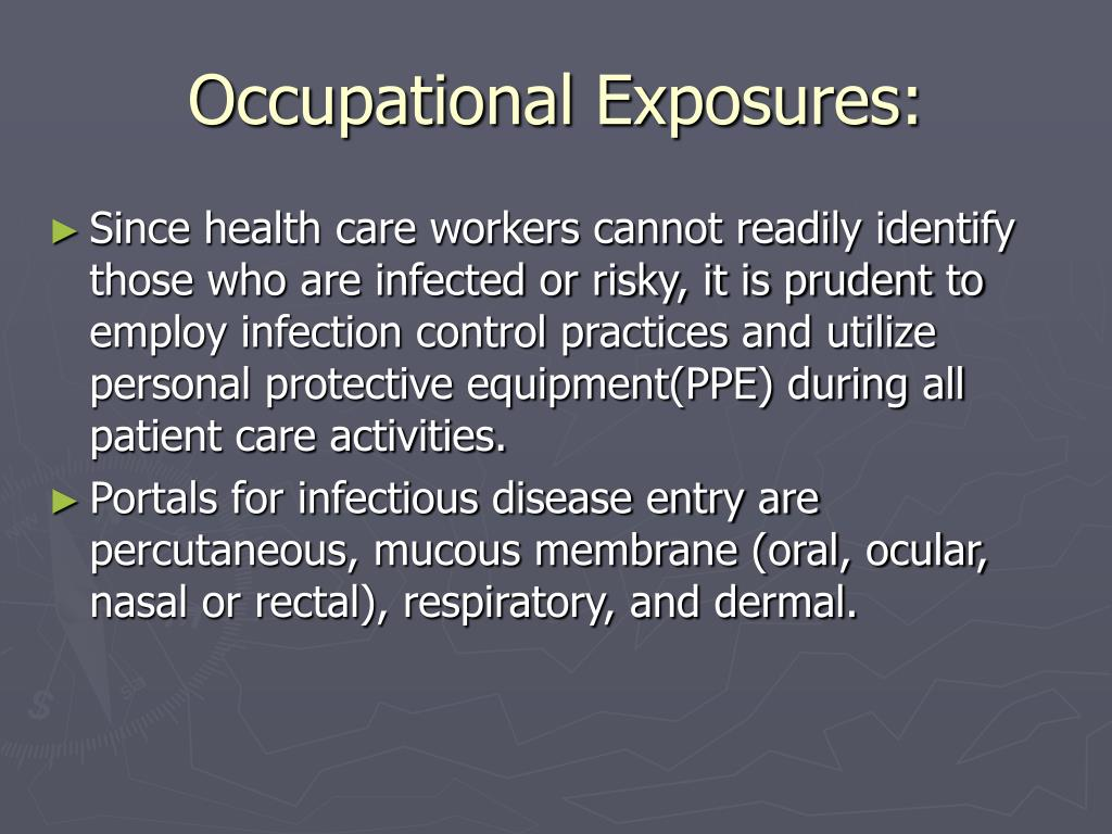 Occupational Exposures: