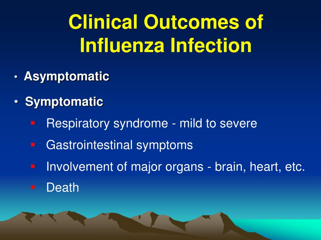 Clinical Outcomes of Influenza Infection