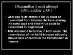 dhurandhar s next attempt dhurandhar 2001