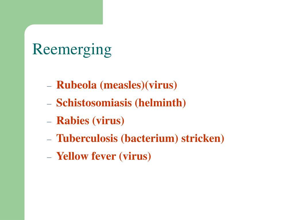 Reemerging