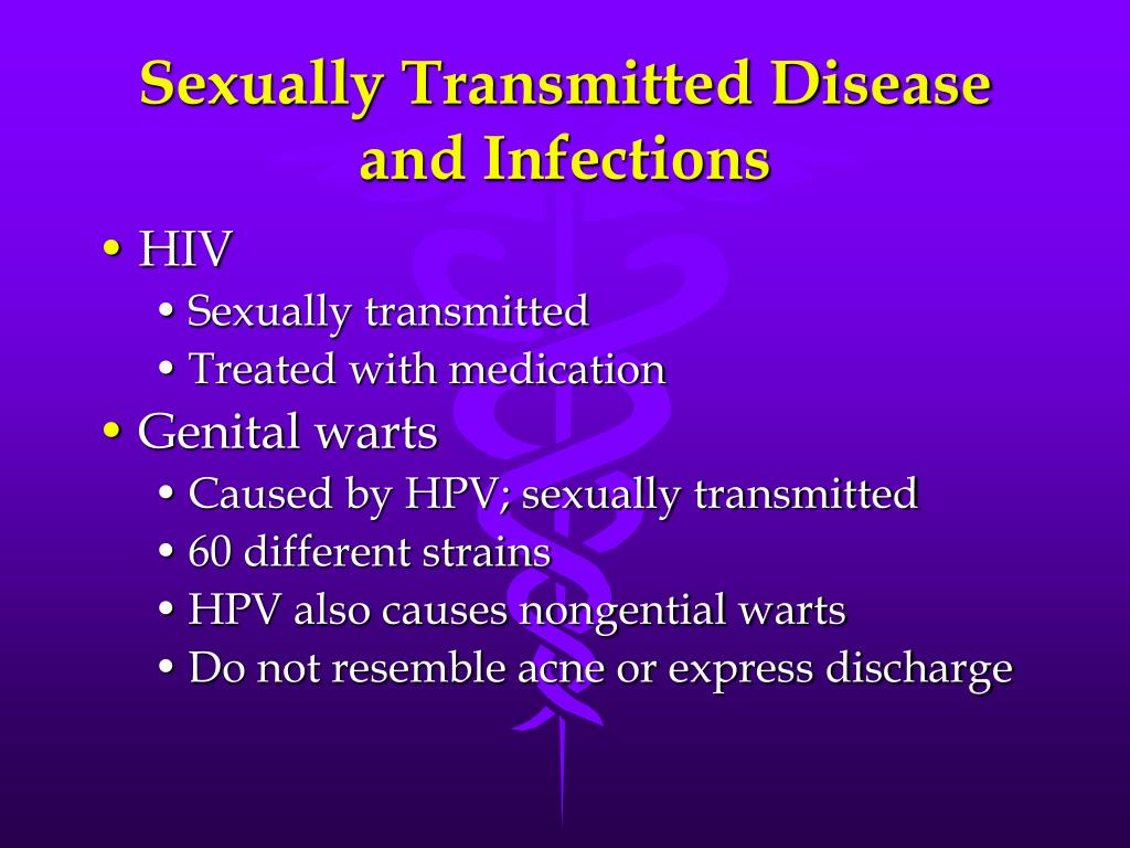 Sexually Transmitted Disease and Infections