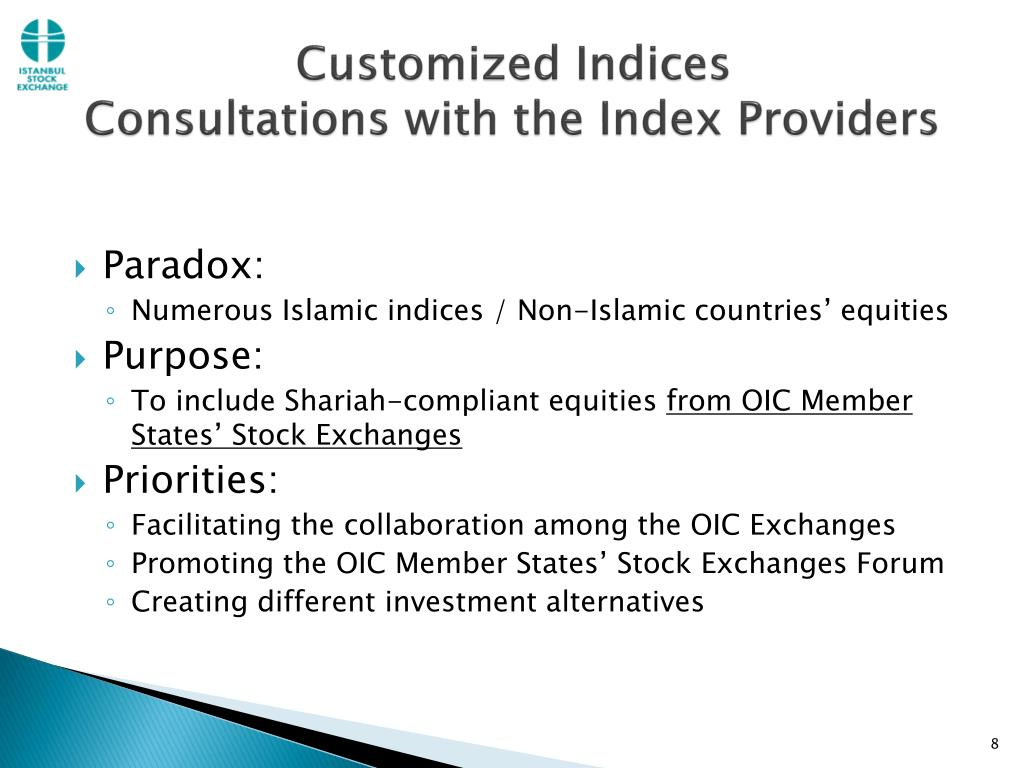 Customized Indices
