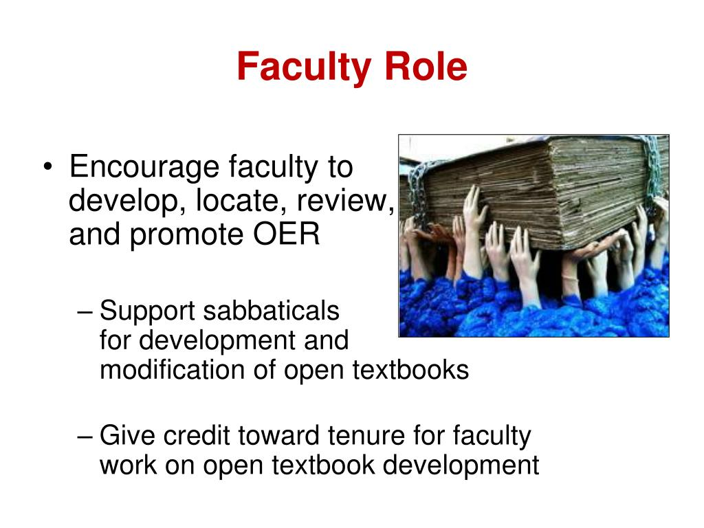 Faculty Role