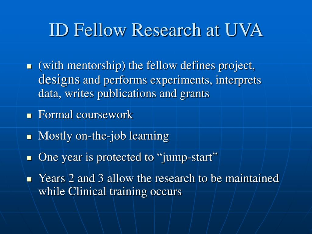 ID Fellow Research at UVA