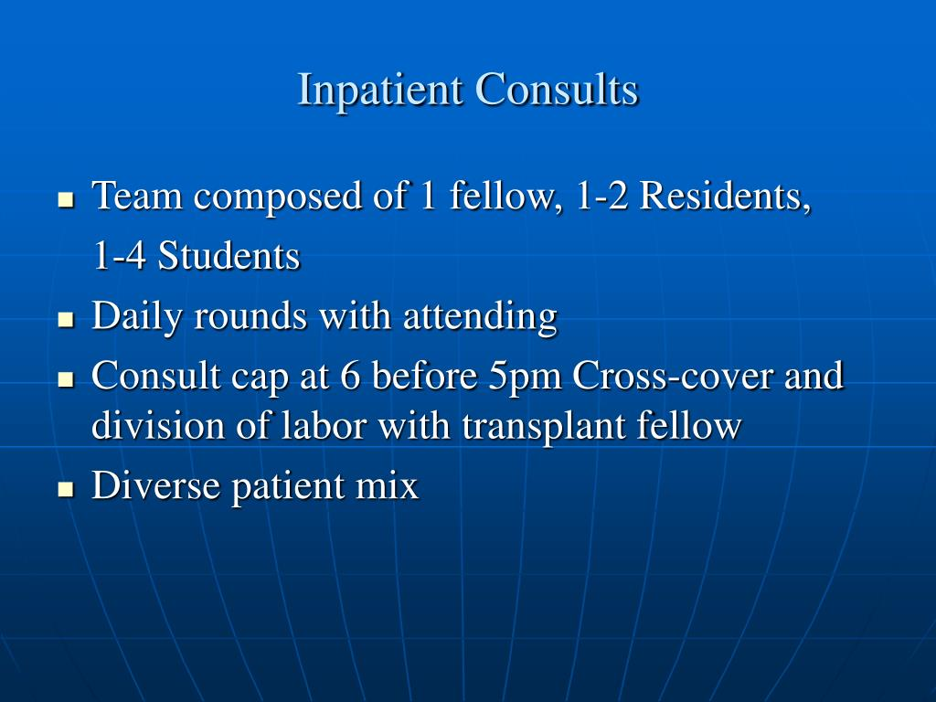 Inpatient Consults