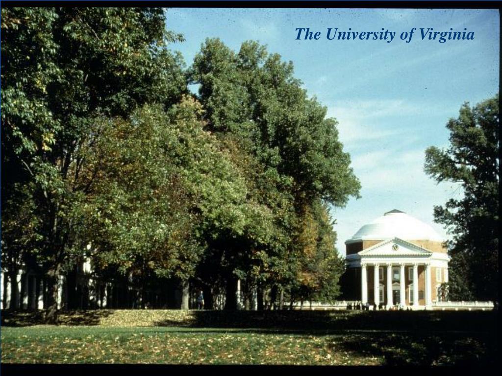 The University of Virginia