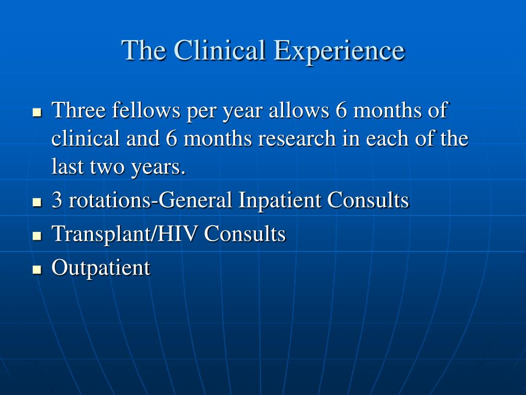 The Clinical Experience