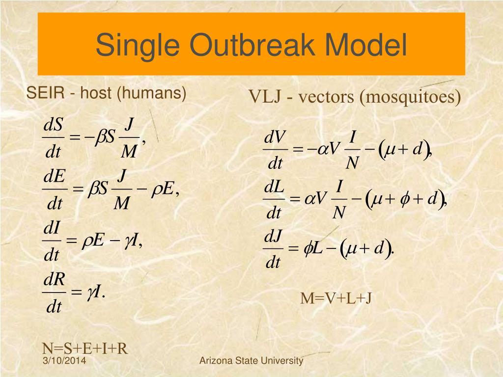 Single Outbreak Model