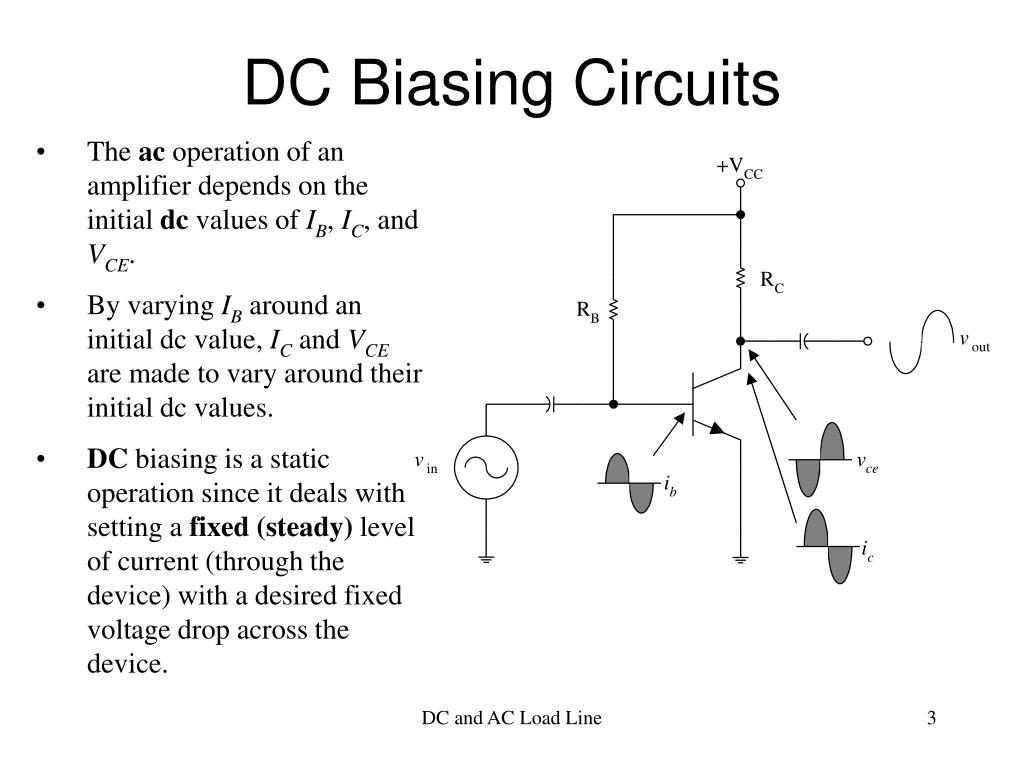 DC Biasing Circuits