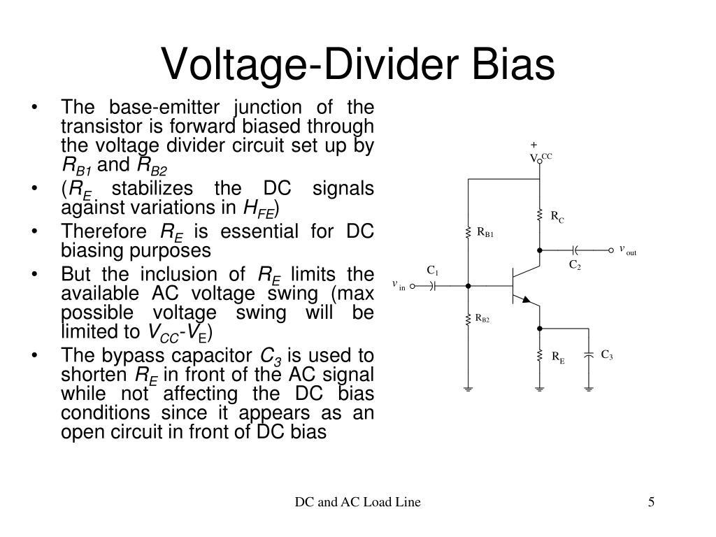 Voltage-Divider Bias