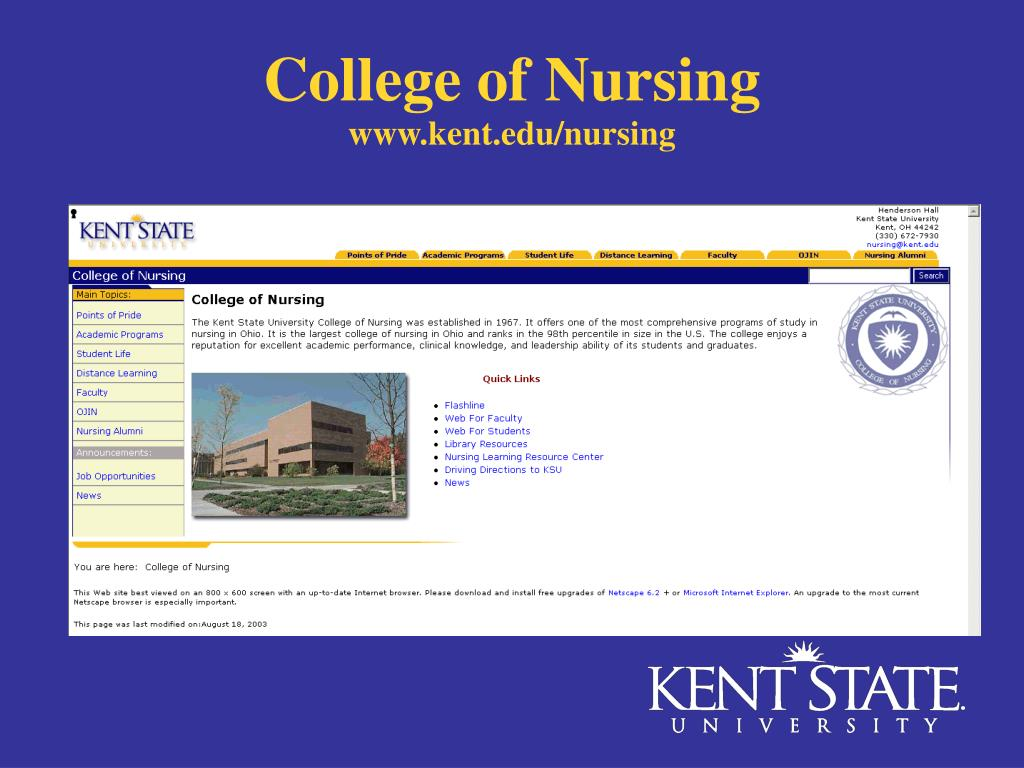 www.kent.edu/nursing
